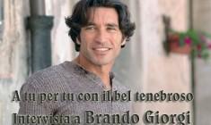 L'attore Brando Giorgi dalle fiction ai 10 comandamenti