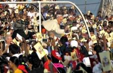 Il fuori programma di Papa Francesco