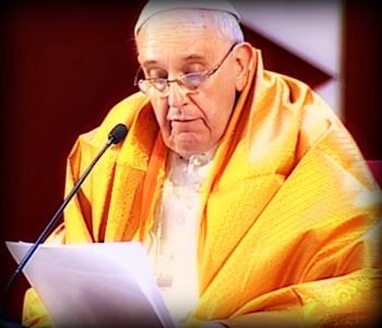 Papa Francesco: le religioni non vengano usate per per giustificare violenza e guerra