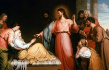 Vangelo (11 gennaio) Gesù guarì molti che erano afflitti da varie malattie.