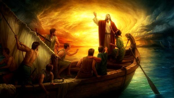 Mc 4,35-41 Chi è costui, che anche il vento e il mare gli obbediscono?