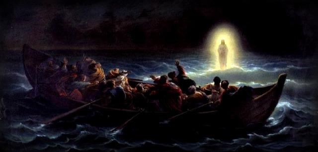 Videro Gesù camminare sul mare (Mc 6,45-52)