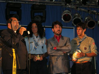 Un momento dell'incontro dei Papaboys a Colonia, nel 2005 (foto archivio Papaboys)