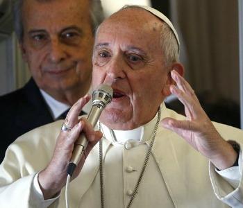 Papa, aereo: trascrizione integrale del testo
