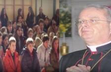 Mons. Miglio incontra i bambini Bielorussi del  progetto Chernobyl