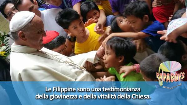 Le Filippine sono una testimonianza della giovinezza e della vitalità della Chiesa.