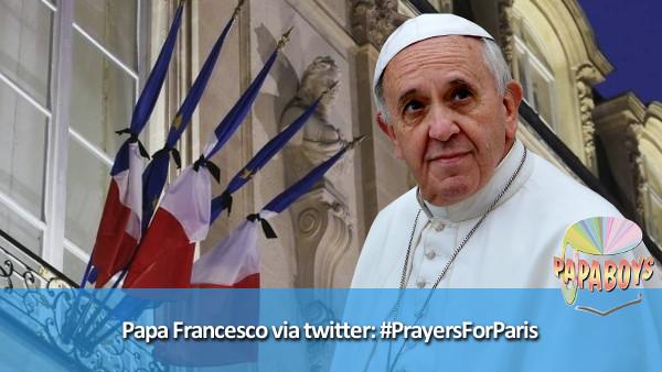 #PrayersForParis