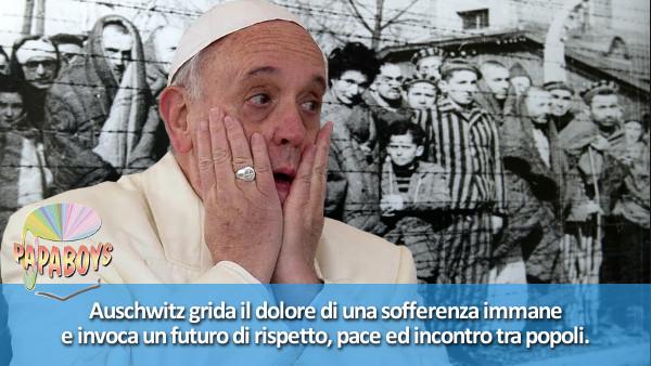 Auschwitz grida il dolore di una sofferenza immane e invoca un futuro di rispetto, pace ed incontro tra popoli.