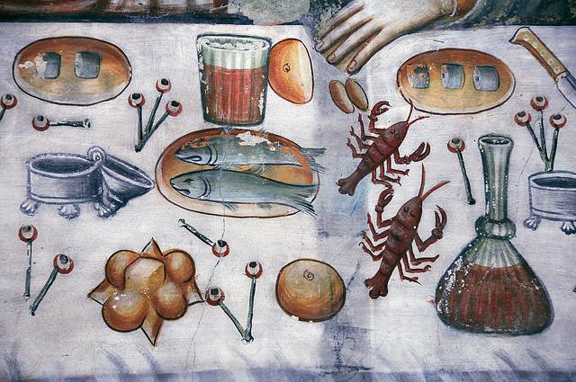 Il menù dell'Ultima Cena