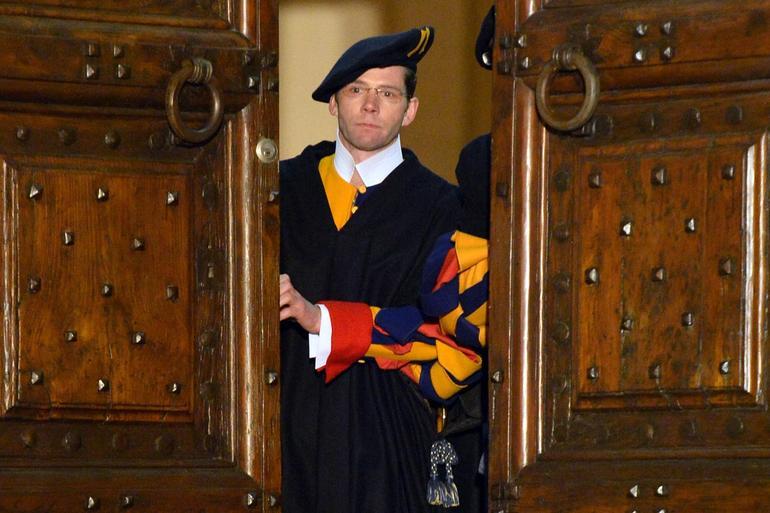 ITALY-VATICAN-POPE-CASTELGANDOLFO-SWISS GUARDS-RESIGN