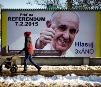 Slovacchia: tre referendum per la famiglia. Incoraggiamento del Papa