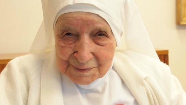 Compie 108 anni Suor Candida, la religiosa più anziana del mondo