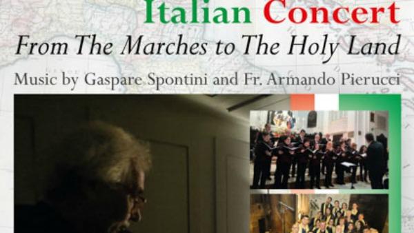 Dalle Marche alla Terra Santa: Un viaggio in musica ispirato dalle composizioni di Gaspare Spontini e Pr. Armando Pierucci