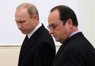 Merkel, Hollande push Ukraine peace plan in Moscow talks with Putin