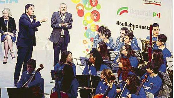 Juniororchestra di Santa Cecilia: se i giovani mettono a nudo i politici