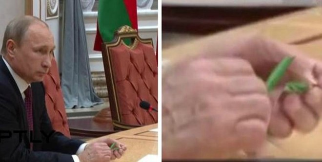 Ucraina, summit di Minsk Putin spezza la matita