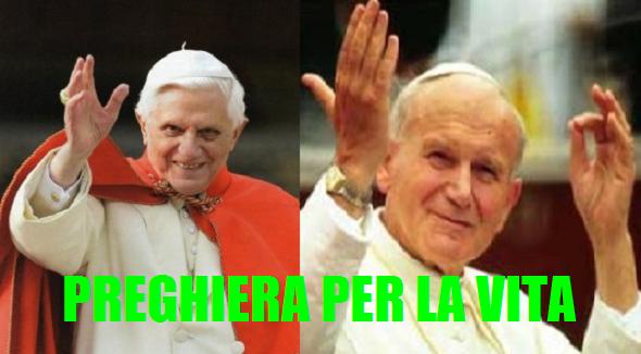 Oggi, 7 febbraio, è la Giornata per la vita. Le due preghiere scritte da Giovanni Paolo II e Benedetto XVI