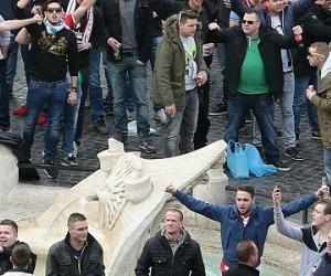 Roma – Feyenoord: non è stato l'Heysel ma se a Piazza di Spagna arriva l'Isis?