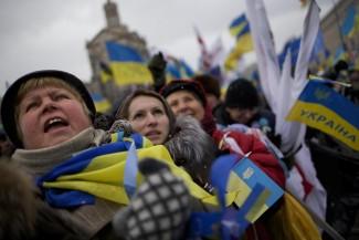 Ucraina, nuova protesta in piazza a Kiev pro Ue