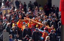 La croce dei giovani delle Gmg visita questo sabato i carcerati di Frosinone