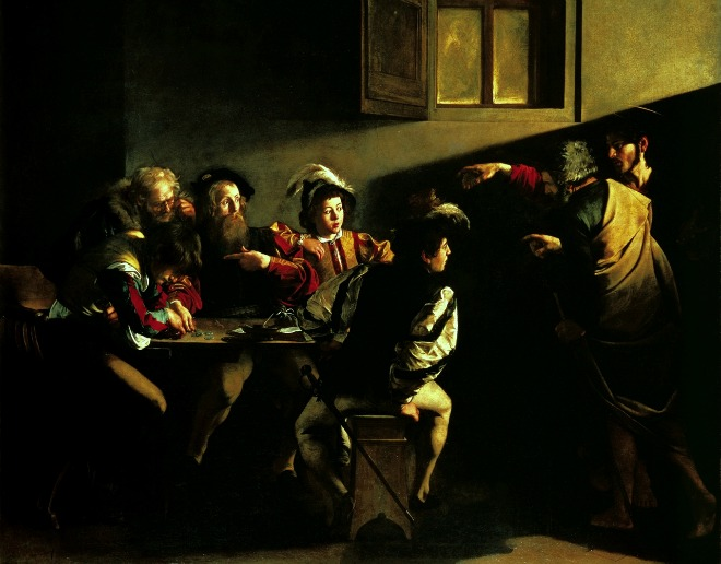 Caravaggio, la Vocazione di San Matteo
