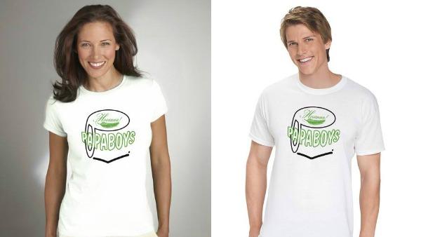 Ecco la prima J-SHIRT (Jesus Shirt) dei PAPABOYS per la Domenica delle Palme