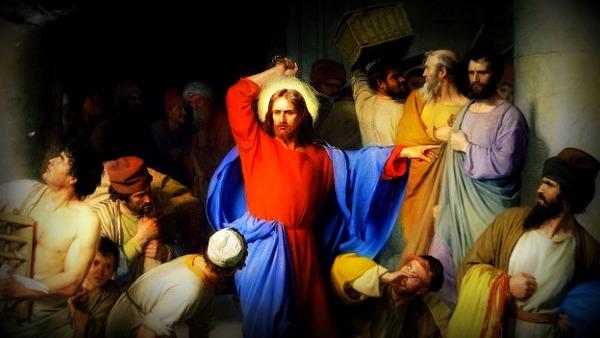 #Vangelo: si mise a scacciare quelli che vendevano e quelli che compravano nel tempio