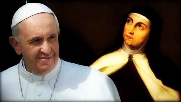 Papa Francesco ricorda il V centenario della nascita di Santa Teresa d'Ávila