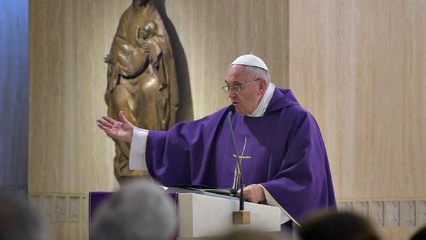 Papa Francesco: Dio mi perdona ma chiede che io perdoni gli altri