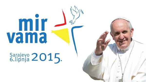 Presentato il logo della visita del Papa a Sarajevo