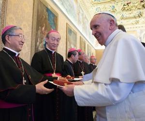 """Papa: la Chiesa in Corea, Chiesa di martiri e laici, """"promessa per tutta l'Asia"""""""