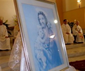 San Giuseppe festeggiato in Galilea