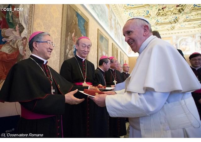 Papa: la Chiesa in Corea, Chiesa di martiri e laici,