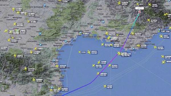 Aereo della Germanwings si è schiantato nel Sud della Francia, 148 morti