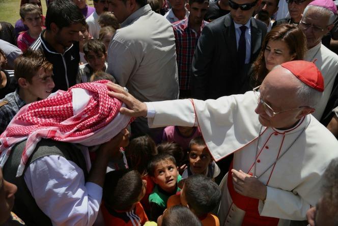 Cardinale Filoni in Iraq. Warduni: la nostra è Chiesa martire