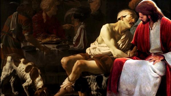 #Vangelo: Erano i cani che venivano a leccare le sue piaghe