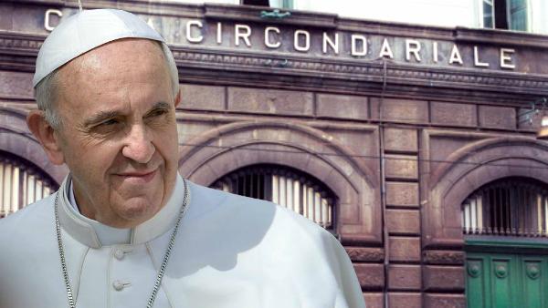 Papa Francesco a Poggioreale. Il pranzo in carcere con i detenuti