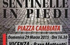 Vicenza, sentinelle in piedi il 29 marzo per dire no al pensiero unico