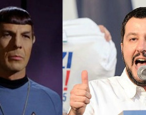 La lezione del Capitano Spock che Matteo Salvini non conosce