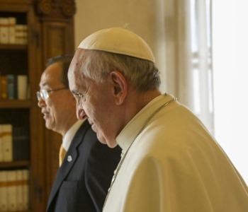Papa Francesco ha incontrato Ban Ki-moon