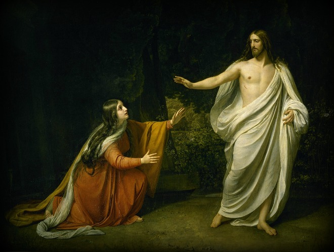 #Vangelo: Donna, perché piangi? Chi cerchi?