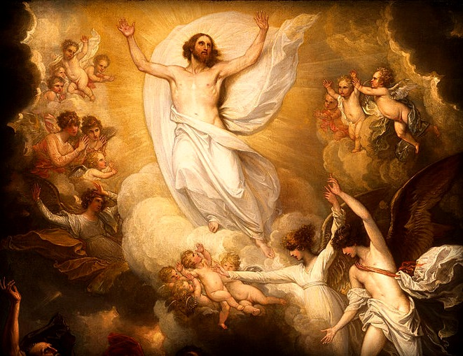 #Vangelo: Il Signore Gesù, dopo aver parlato con loro, fu elevato in cielo e sedette alla destra di Dio