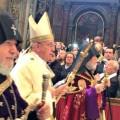 Papa Francesco: un tempo di guerra, una terza guerra mondiale ''a pezzi''