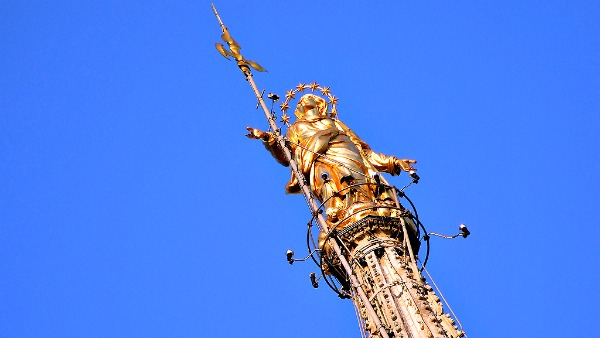 La Madonnina di Milano all'Expo