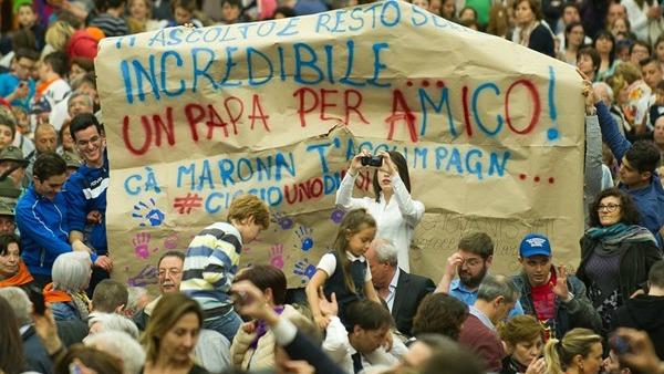 Papa Francesco: cattolici facciano politica per bene comune, non un partito