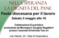 Cesenatico, la festa dei lavoratori col vescovo Regattieri