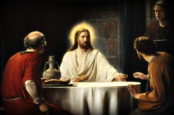 #Vangelo: Riconobbero Gesù nello spezzare il pane.