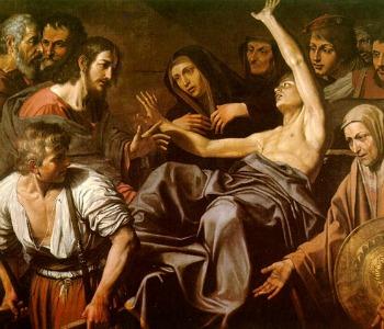 Dai Miracoli dei Vangeli la Misericordia di Gesù. Risurrezione del figlio unico di Madre vedova