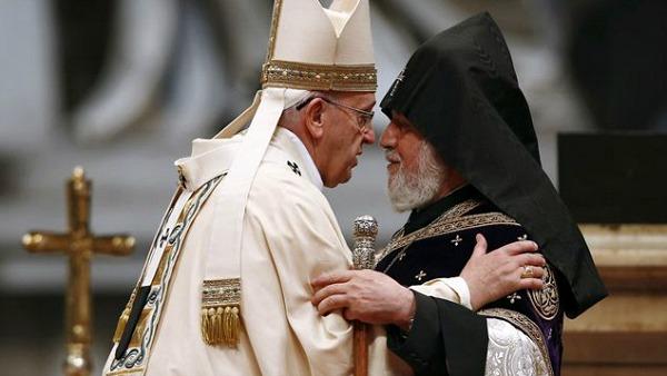 Martirio armeno, il Papa: sia un monito per ogni conflitto