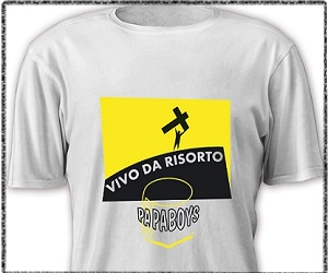 Acquista la Jesus Shirt 'Vivo da Risorto!